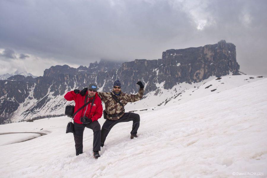 Dolomity, Passo Giau20180503 20