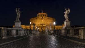Rzym, zamek Sant' Angelo 2019-10-15 panorama1
