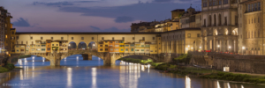 Włochyy, Florencja Ponte Vecchio, panorama7