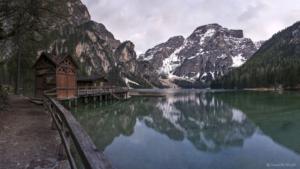 Włochy, Lago di Braies 2018-05-03 panorama5