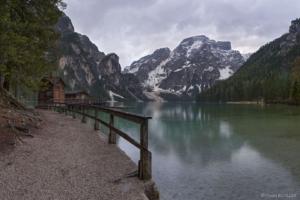 Włochy, Lago di Braies 2018-05-03 panorama9