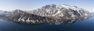 Norwegia, jezioro Gjende 2016-06-05 panorama3