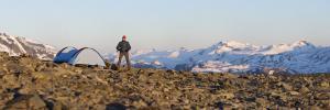Norwegia, szczyt Veslfjellet 2016-06-05 panorama