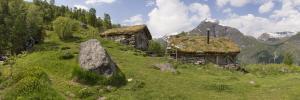 Norwegia, Geirangerfjord, Homlungsaetra  2016-06-07 panorama2b