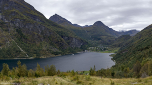 Norwegia, Geirangerfjord 2017-09-21 panorama2