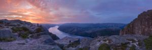 Norwegia, Preikestolen 2018-06-09 panorama2