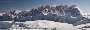 Alpy, Gruppo delle Pale 2017-02-07 panorama3