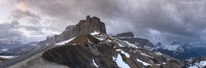 Dolomity, Passo Sella 2018-05-02 panorama4