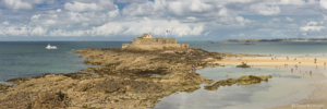 France, St-Malo, fort National, panorama1
