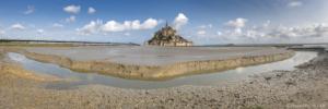 Francja, Mont Saint Michel 2019-06-03 panorama3