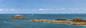 Francja, Pointe du Grouin 2019-06-03 panorama2