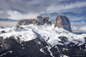 Alpy, Sassolungo 2017-02-08 1