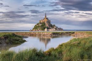 Francja, Mont Saint Michel 2019-06-02 panorama2