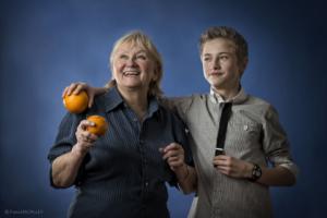Mikołaj i babcia Renia2014 (12)